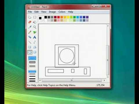 Saving files in paint