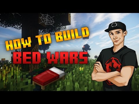 How To Build A Bed Wars Map In Minecraft!