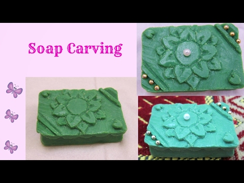 Easy Soap Carving / DIY