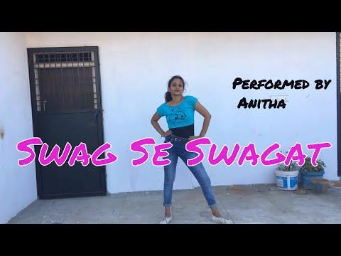Swag Se Swagat | Tiger Zinda Hai |  dance cover| Bollywood dance | Anitha