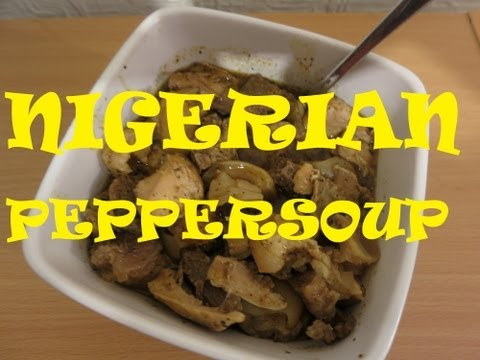 HOW TO MAKE NIGERIAN PEPPER SOUP WITH ASSORTED MEAT | Nigerian Food Recipes