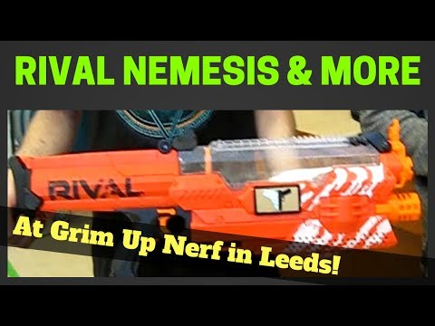 Nerf Nemesis Firing Full Auto, Nerf Fallout 4 cosplay, Nerf Havokfire Mod... all at Grim Up Nerf!