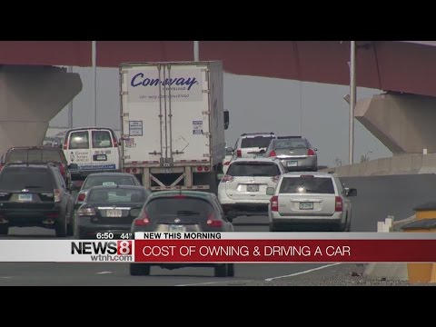 AAA: annual cost of having a car is down this year