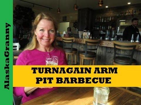 Turnagain Arm Pit Barbecue Anchorage Alaska Seward Highway