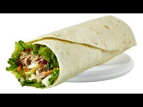 High protein tuna wraps