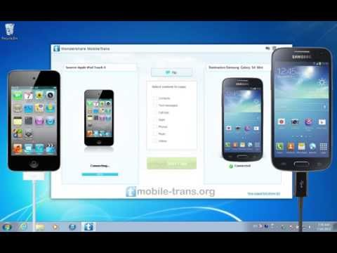 How to Sync iPod with Galaxy S4 Mini to Transfer Music from iPod to Samsung Galaxy S4 Mini