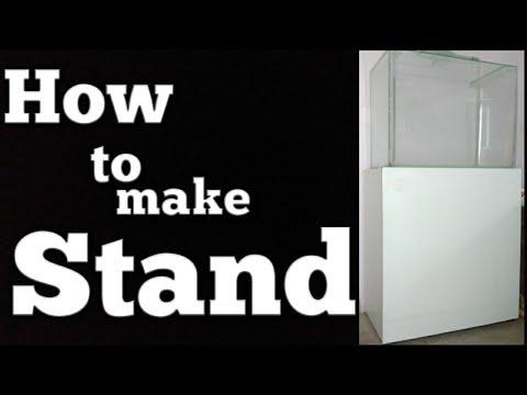 How To Make Aquarium Stand (part-1)