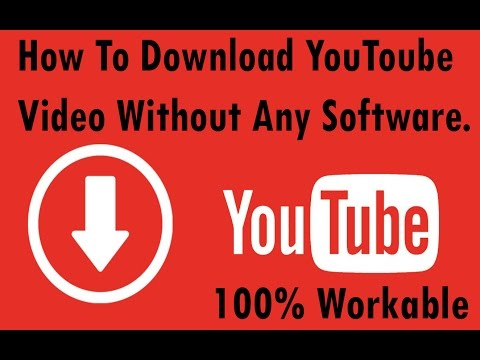 How to Download youtube video without any software(100% work) || free download youtube video