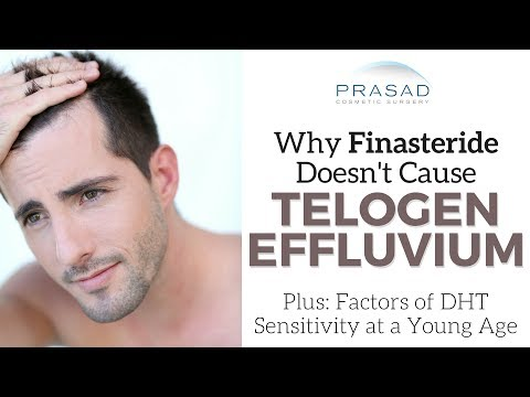 Why Finasteride Doesn't Cause Telogen Effluvium, and a Treatment to Augment or Replace Finasteride