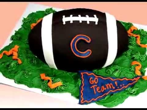 Football Cake How To Decorate NFL Superbowl Football Cake Decorating Tutorial Video Preview