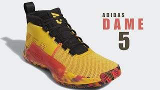 outlet store c2222 6c339 ADIDAS DAME 5   Dame Goose   CLOSER LOOK  damegoose  dame5  adidas