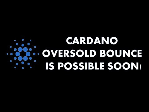 CARDANO (ADA) - EXPECT A OVERSOLD BOUNCE SOON!