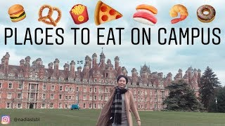 Download Royal Holloway University of London - PLACES TO EAT ON CAMPUS Video