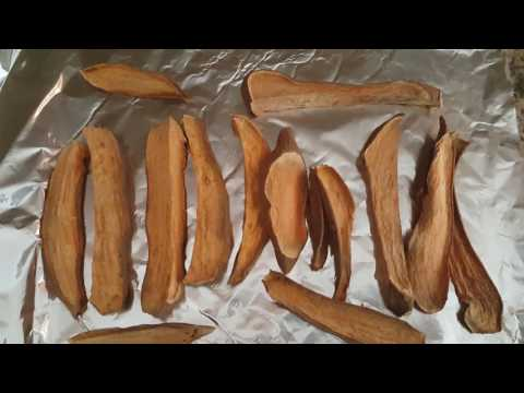 Sweet potato dog chew sticks recipe