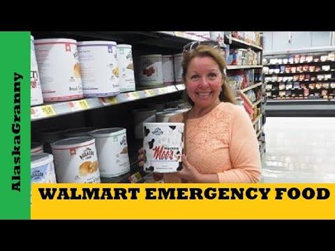 Walmart Emergency Long Term Freeze Dried Food