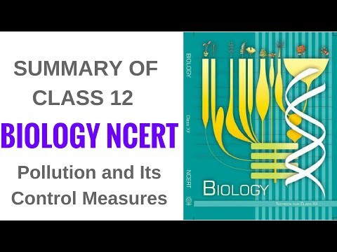 Summary of Biology NCERT Class 12- Pollution and Its Control Measures