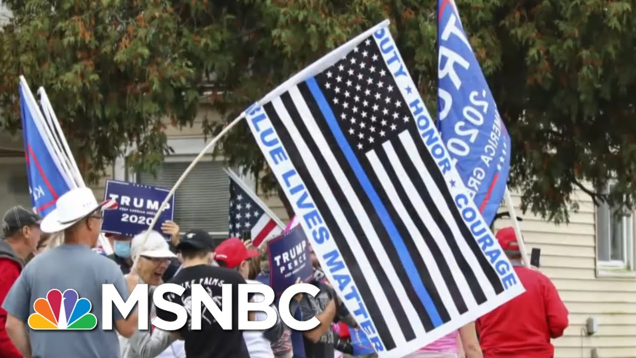 Police Find Many MAGA Fans Don't Think 'Blue Lives Matter'   The Beat With Ari Melber   MSNBC