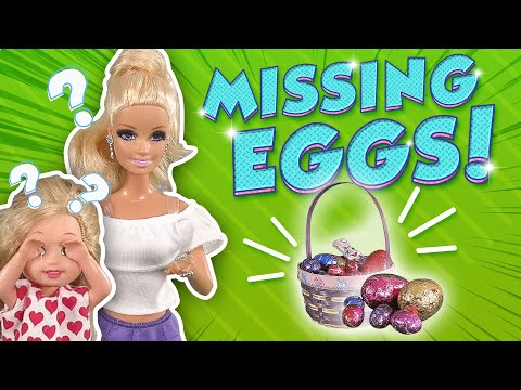 Barbie - Who's Stealing the Easter Eggs? | Ep.156