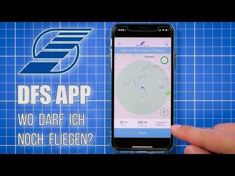 DFS App ⛅ Wo darf ich fliegen?