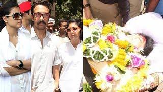Reema Lagoo Funeral Full Video | Aamir Khan | Kajol | Kiran Rao
