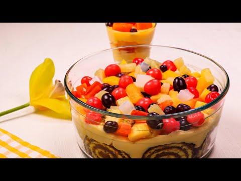 Fruit Trifle Recipe - SooperChef