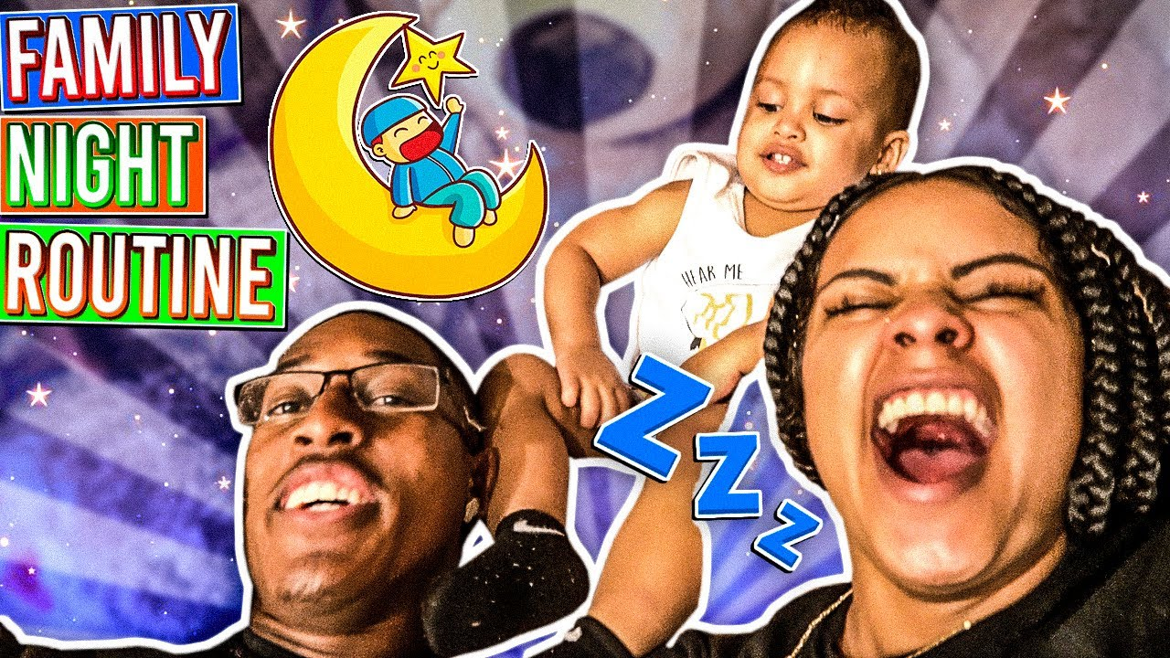 OUR FAMILY NIGHT ROUTINE ❤️