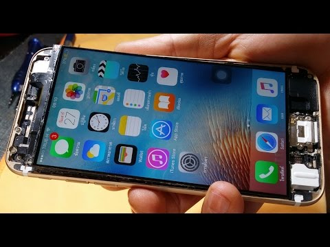 How To : iphone 6 front glass replacement ...DIY : By Lamun Softly