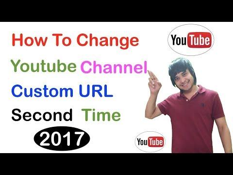 How To Change Youtube Channel Custom URL Second Time || Channel का URL दूसरी-तीसरी बार कैसे बदलते है