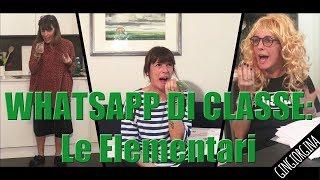 WHATSAPP DI CLASSE: Le Elementari