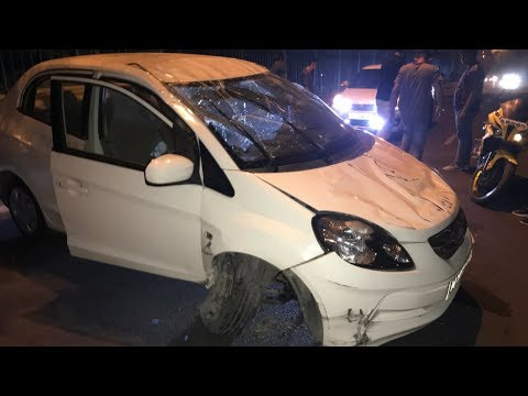 Our Car Accident While Celebrating Birthday