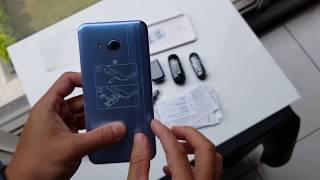 ePrice - HTC U11 Amazing Silver 炫藍銀台灣市售版開箱