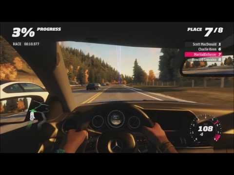 Forza Horizon - High Stakes Street Racing (Inside Car View)