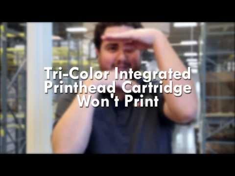 Tri-Color Ink Cartridge Won't Print