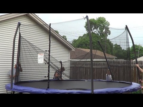 How to Set Up A Trampoline