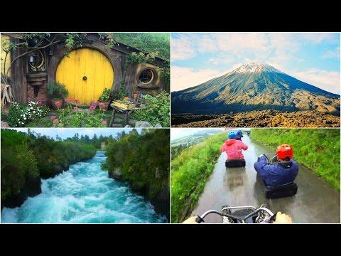 NEW ZEALAND ROAD TRIP VLOG    Luge, Hobbiton, Mountains & More
