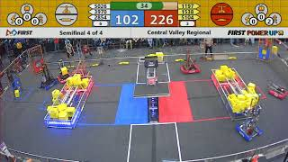 Semifinal 4 - 2018 Central Valley Regional
