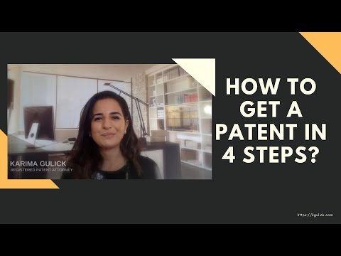 How to get a patent in 5 steps