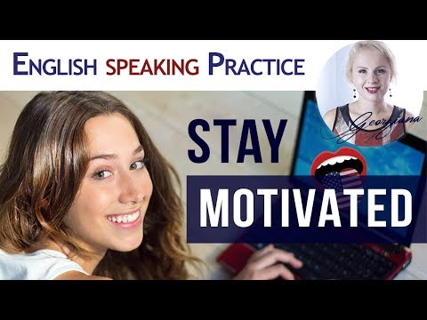 #025 Stay Motivated when learning English Keep a ➕ Positive Attitude