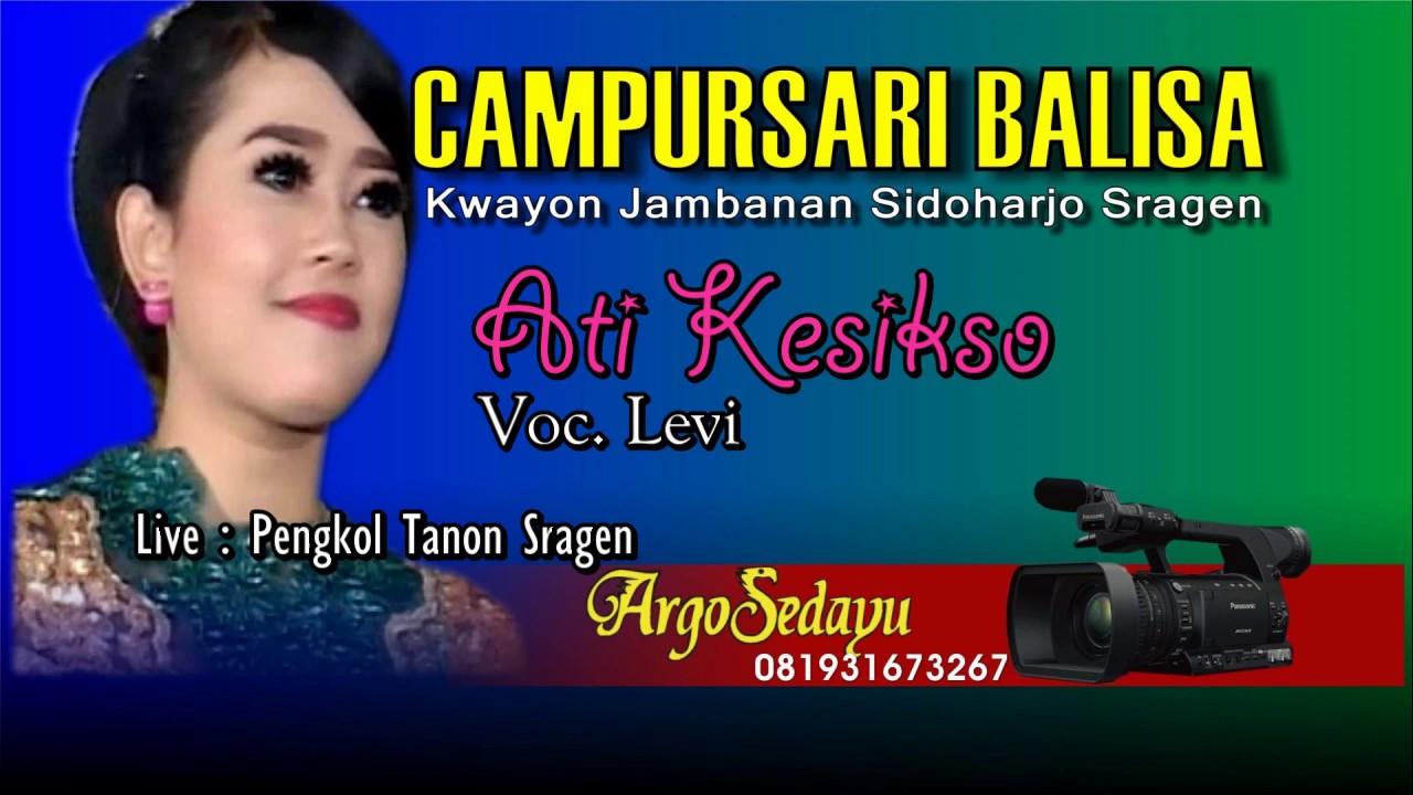 Lirik Lagu ATI KESIKSO Sragenan Karawitan Campursari - AnekaNews.net
