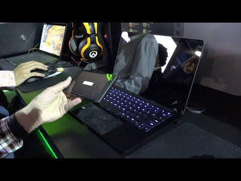 Razer's Linda Project First Look at CES 2018