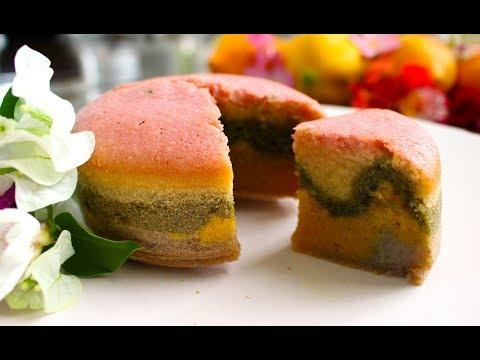 Rainbow Mochi Cake Recipe