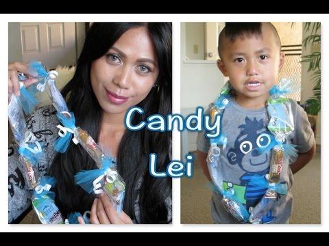 Graduation Candy Lei (DIY) 2015 _ AlyssaFaye