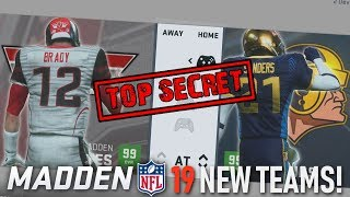 TWO NEW SECRET TEAMS THAT YOU CAN USE IN MADDEN 19!! (GAMEPLAY)