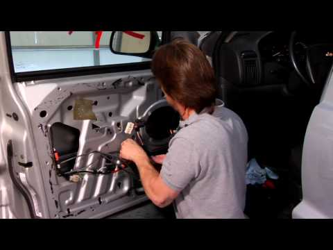 Troubleshooting Car Problems : How to Replace a Car Window Drive Cable