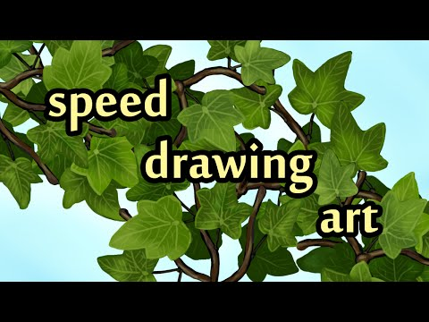 Drawing some art for game Climbing Ivy