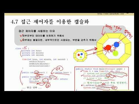 [java의 정석] ch7-2 객체지향개념2-2
