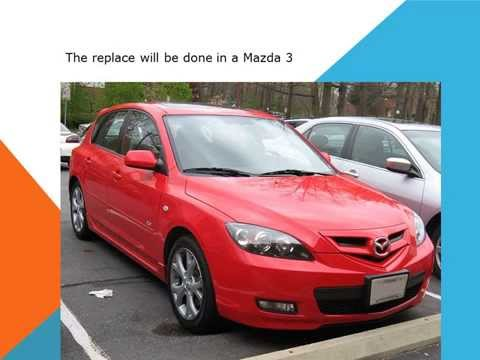 Mazda 3 How to replace the pollen filter cabin filter