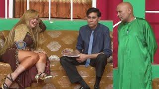 Sobia Khan With Akram Udas and Goshi 2 With Zulfi New Stage Drama Comedy Clip 2020