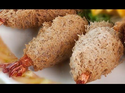 How To Make Deep Fried Taro Puff | Dim Sum HongKong | Deep Fried Taro with Prawns 蜂巢炸芋角