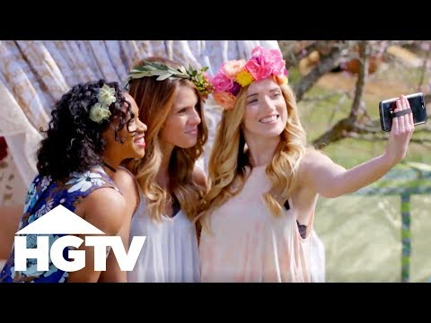 Festival Fashion: DIY Flower Crowns 3 Ways - HGTV